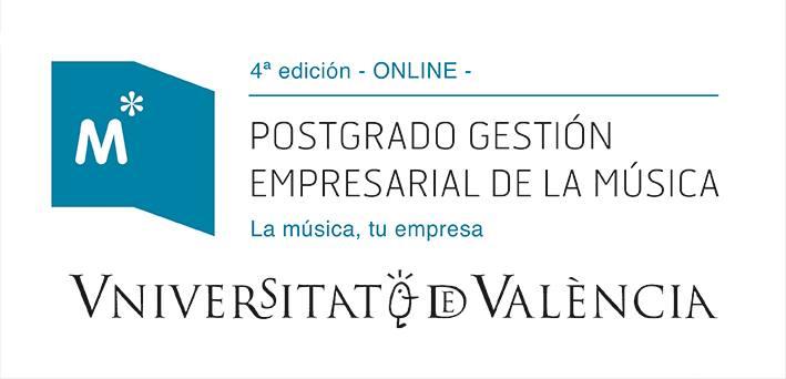 Postgrado Gestión Empresarial de la Música Universitat de València 4ª ed
