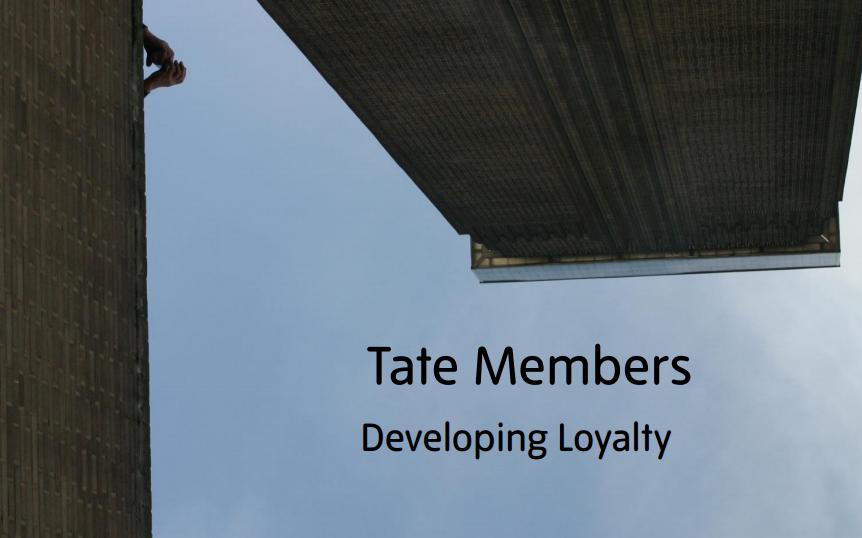 IV Conferencia de Marketing de Las Artes: Tate Laughton