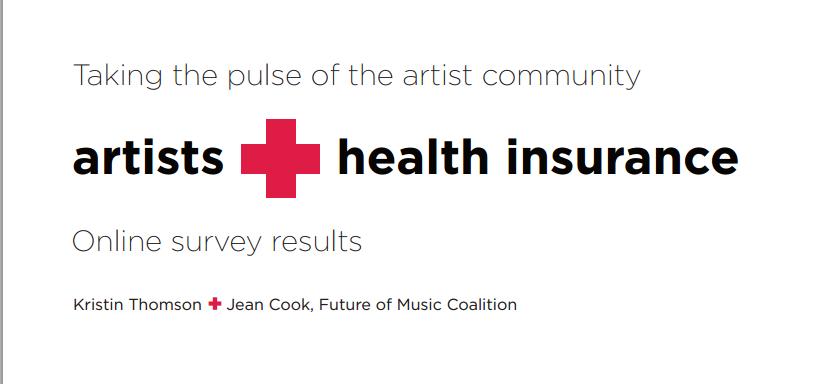 artist health insurance
