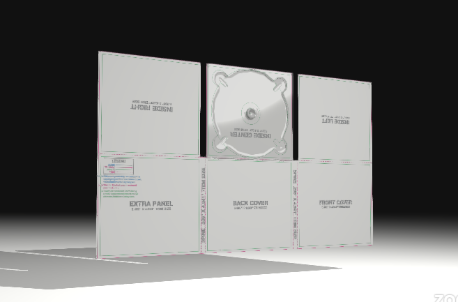 formato disco digipak