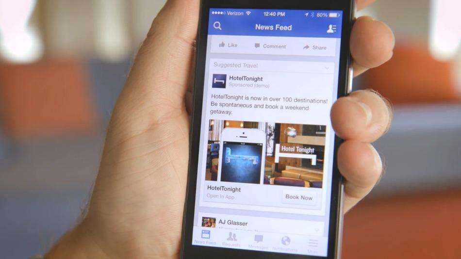 campaña facebook movil