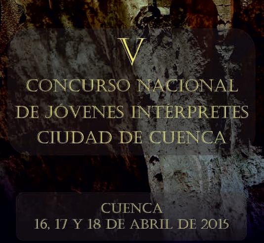 V Concurso nacional de jovenes interpretes ciudad de cuenca