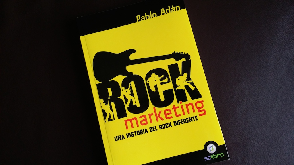 La semana pasada pudimos acudir a la presentación en Valencia del libro Rock Marketing, una historia del rock diferente del autor Pablo Adán, que trata un análisis de la cultura Rock desde la perspectiva del Marketing