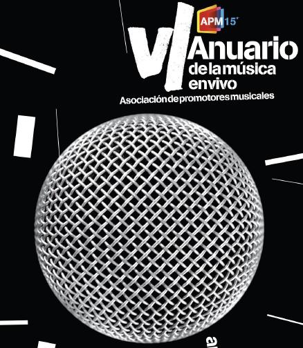 VI Anuario de la Música en Vivo
