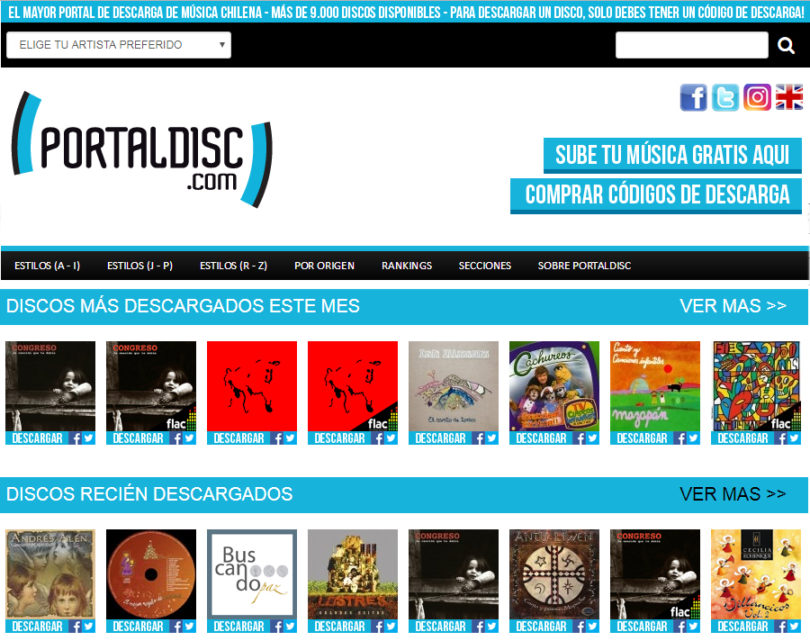 Conoce PortalDisc.com
