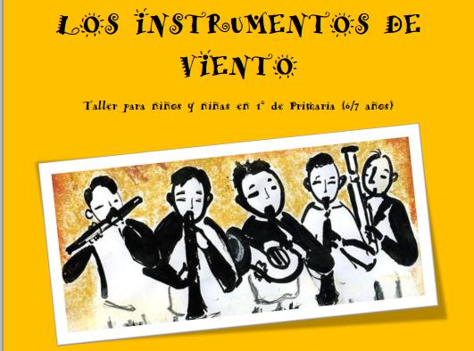 curso iniciacion niños instrumentos de viento 2015