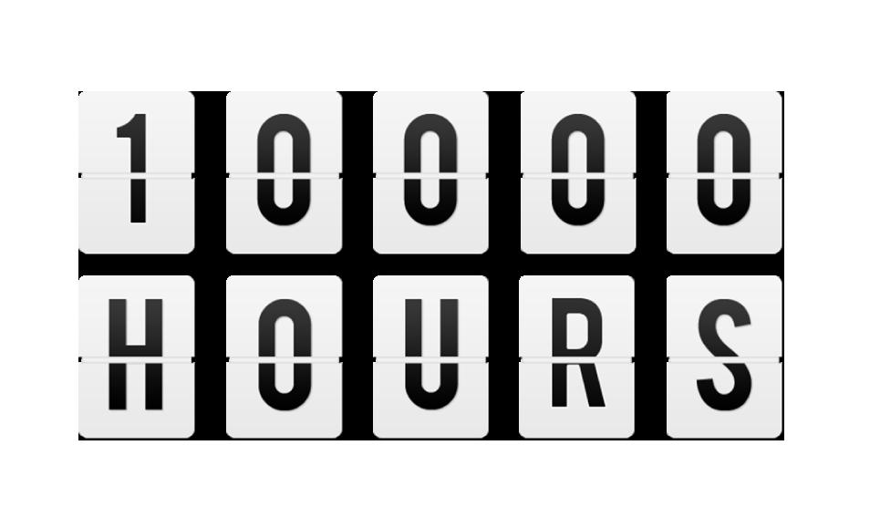 la teoria de las 10000 horas