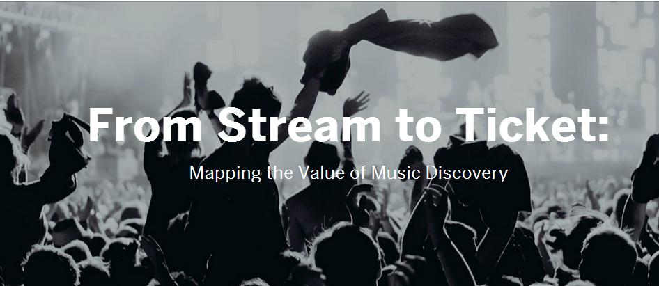 mapa de valor del descubrimiento de musica