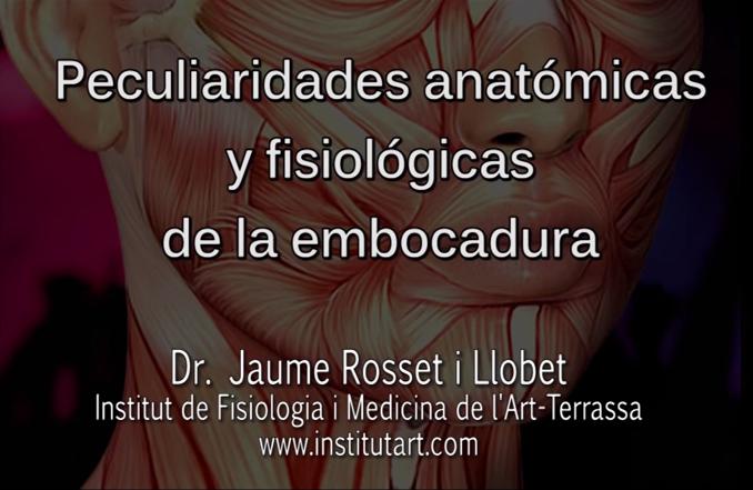 anatomia y fisiologia de la embocadura. musicos de viento
