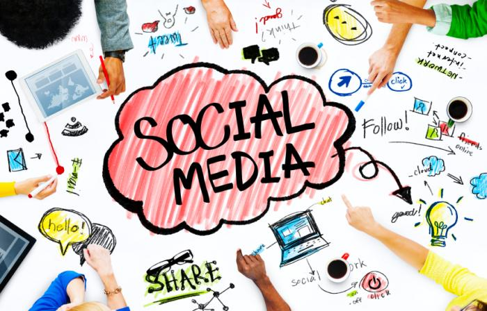 estudio social media empresas 2015