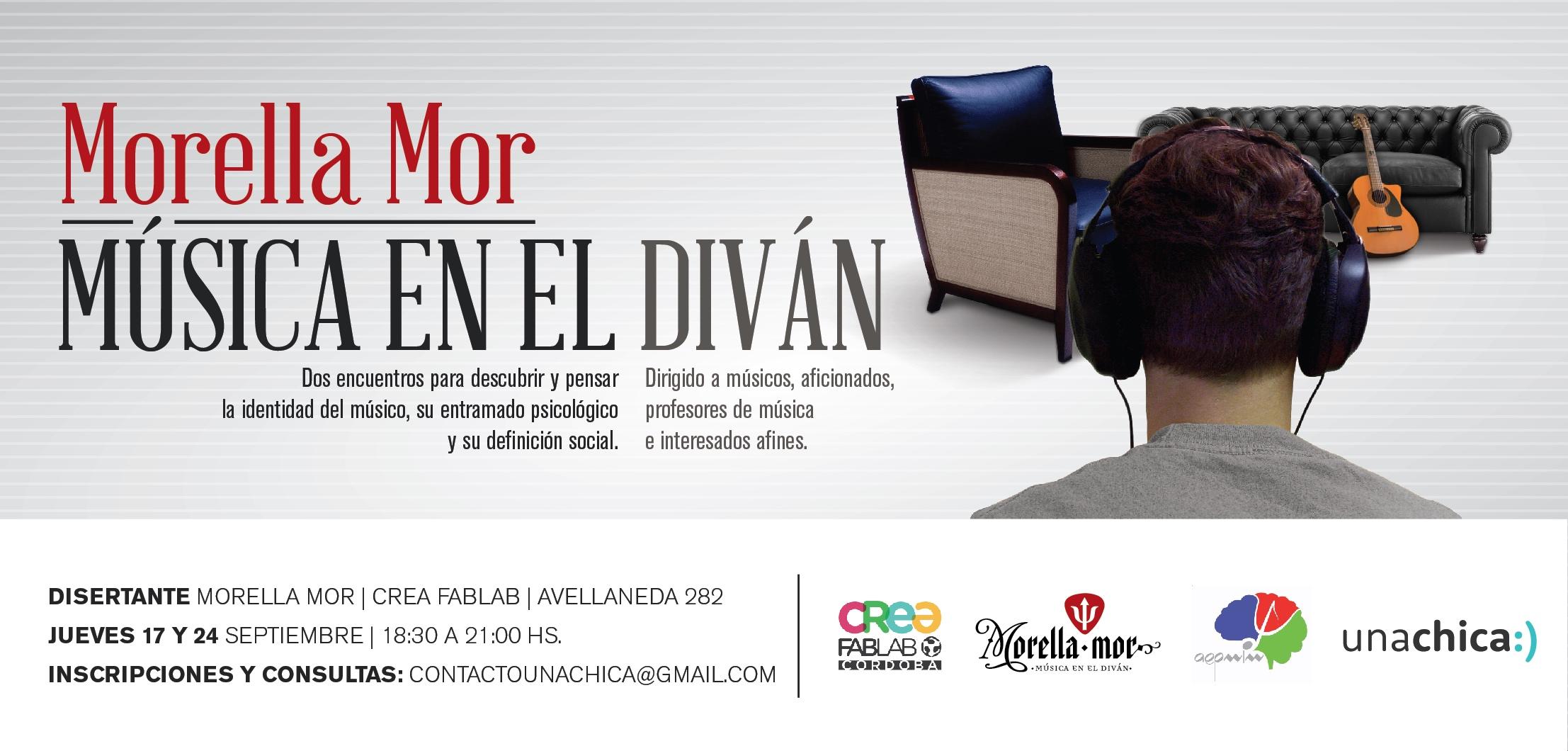 Argentina ciclo m sica en el div n charlas sobre for Que es divan en psicologia