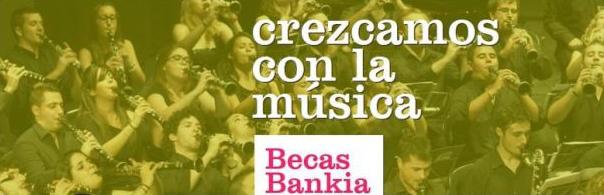 Becas Bankia musica 2015. Fsmcv