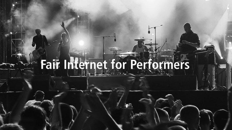 Change.org fair internet, músico, defiende tus derechos