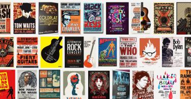consejos de un diseñador grafico como hacer un cartel conciertos