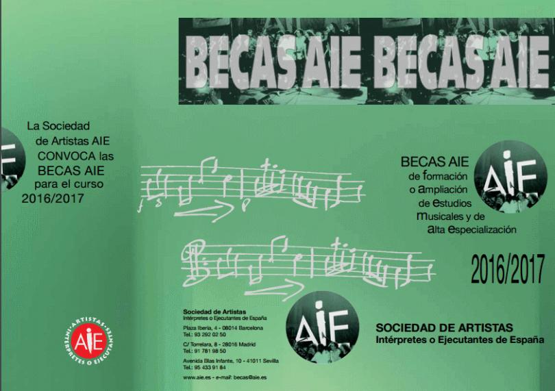 becas 2016-2017