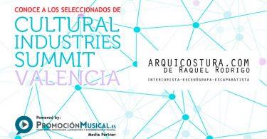 seleccionados cultural industries summit 2016, arquicostura