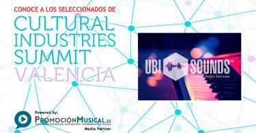 cultural industries summit 2016, seleccionados, ubisounds