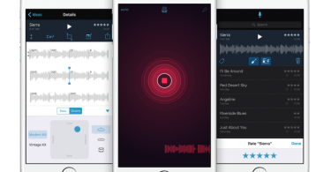 app grabacion musica apple, music memos