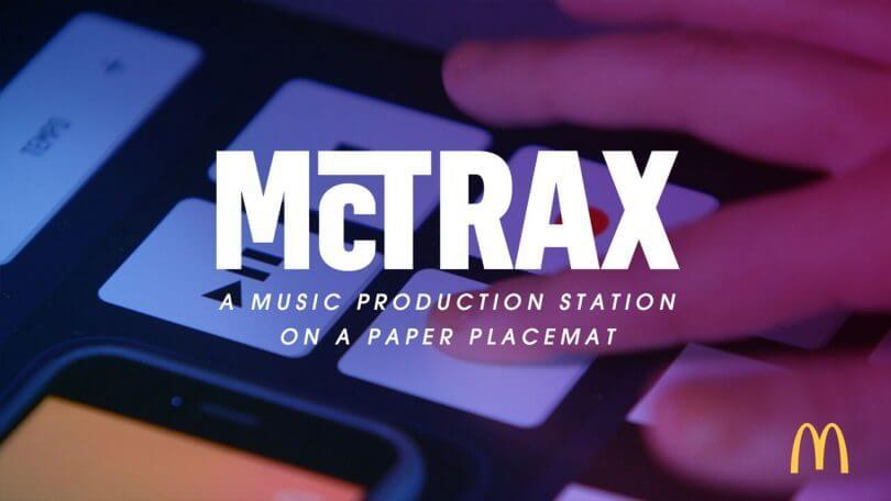 Saca el DJ que llevas dentro con el mantel McTrax de McDonalds