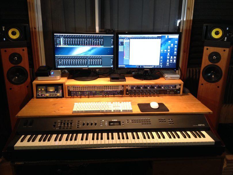 investigacion produccion musical estudios grabacion caseros