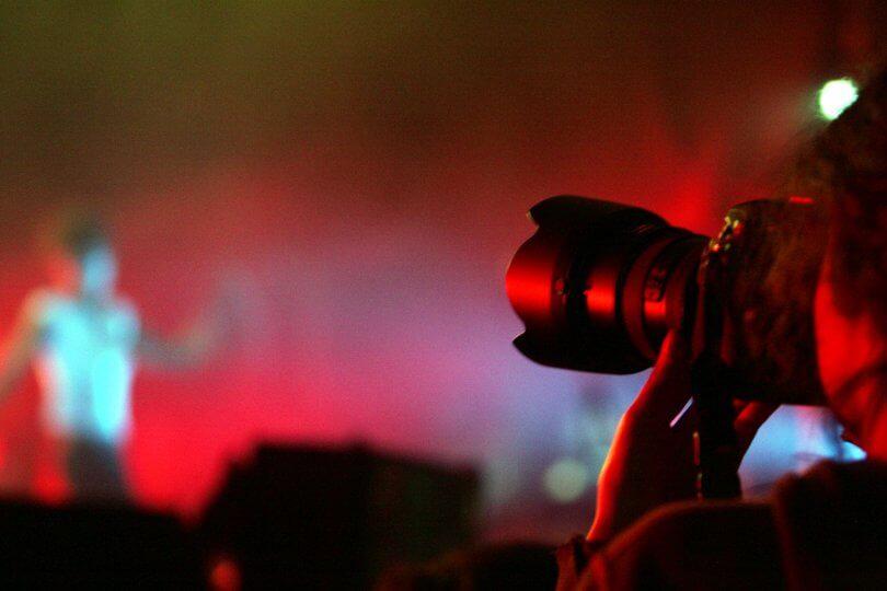 Industria musical | Fotógrafo musical. Definición