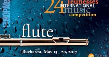 Concurso internacional de flauta para jóvenes en Bucarest