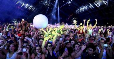 Festivales de música y convergencia de sus lineups en EE.UU.