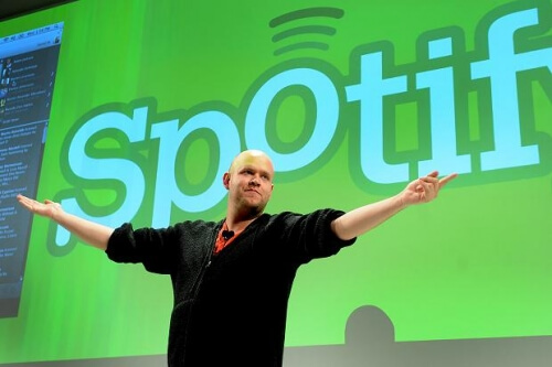 Daniel Ek Spotify industria musical
