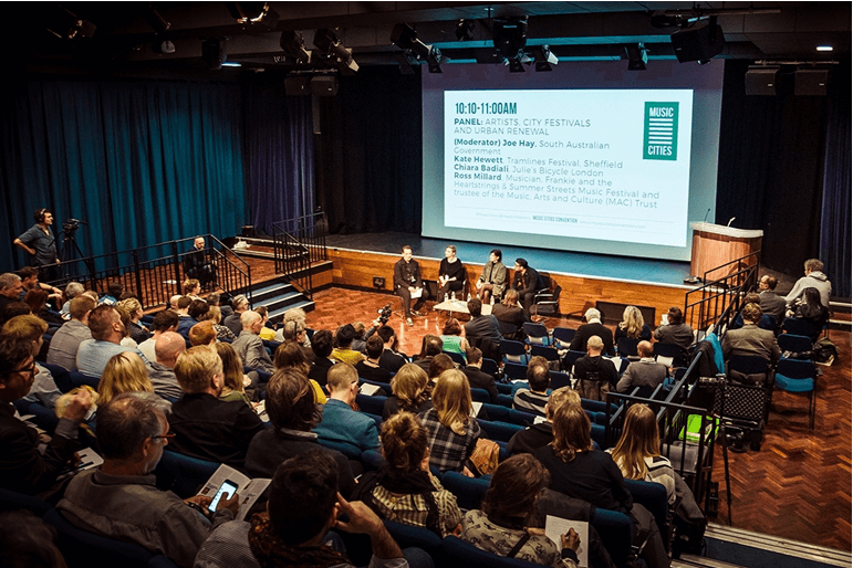 Music Cities Convention de Sound Diplomacy en Berlín