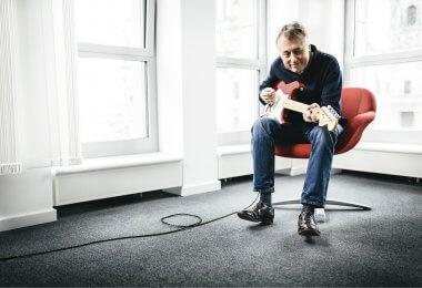 BMG CEO Hartwig Masuch