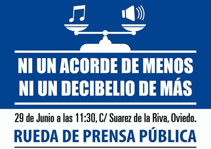 Se exige al Principado de Asturias el fin de la prohibición de la música en directo