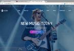 plantillas wordpress para musicos y artistas