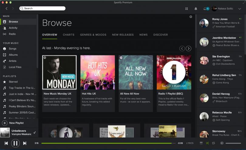 Spotify Lanza Nuevo Sistema de Playlists para Sellos Discográficos