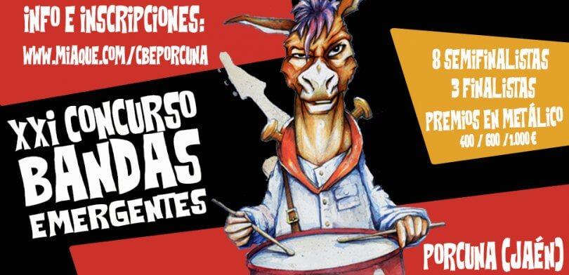 XXI Concurso Bandas Emergentes Porcuna