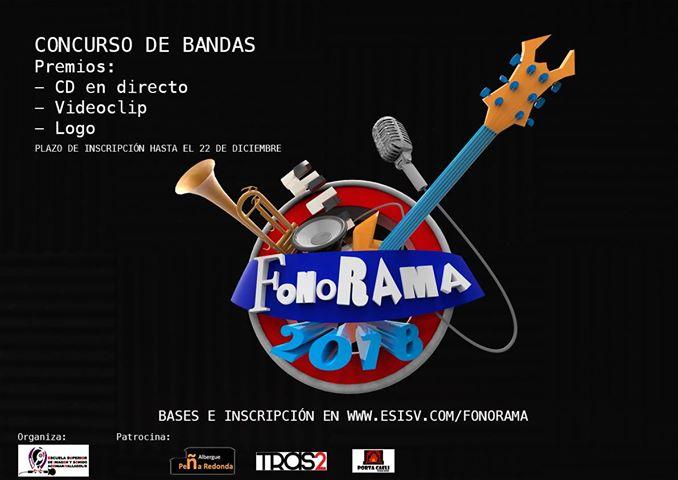 Concurso Musical Fonorama 2018