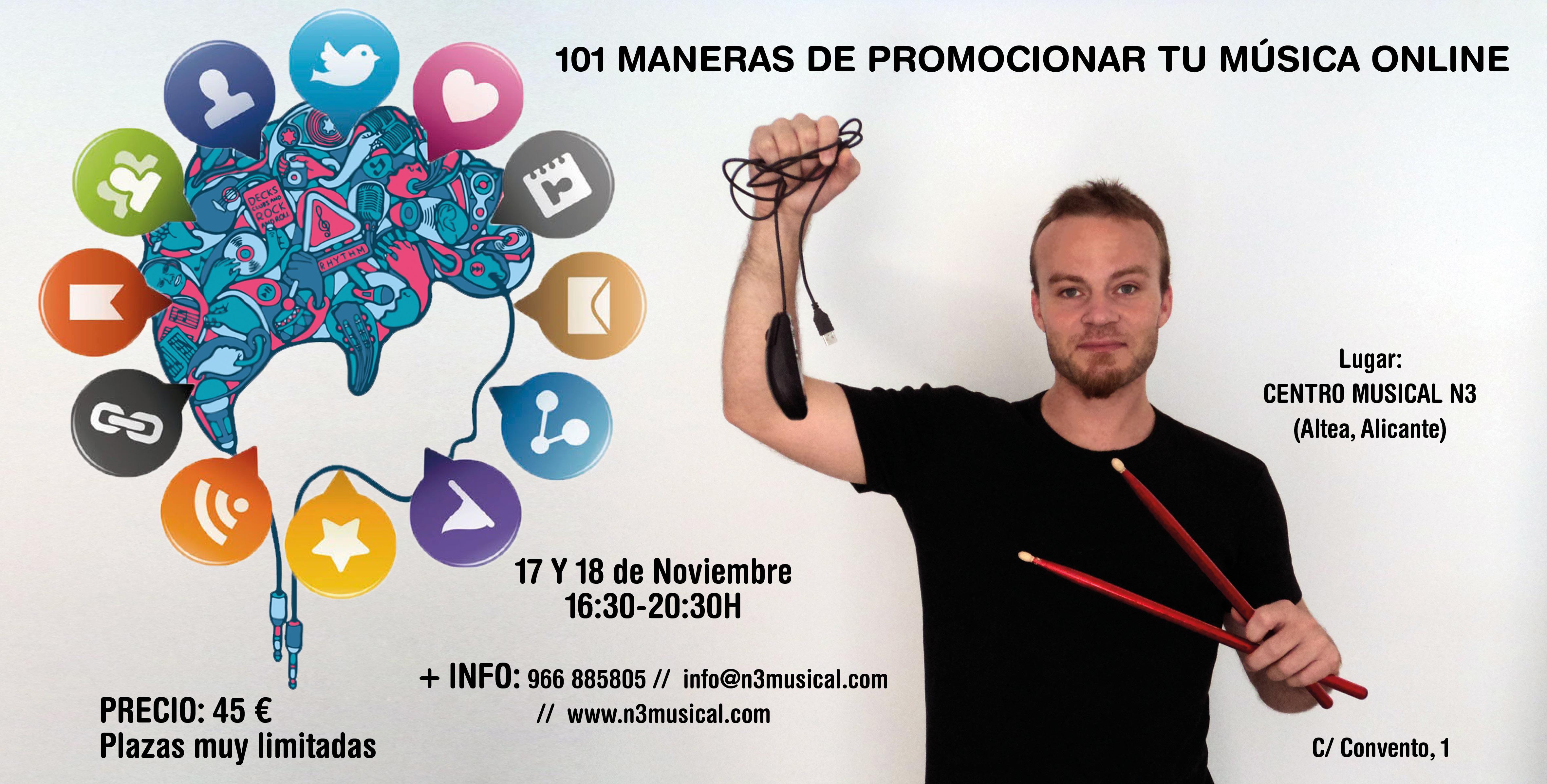 101 Maneras de promocionar tu música