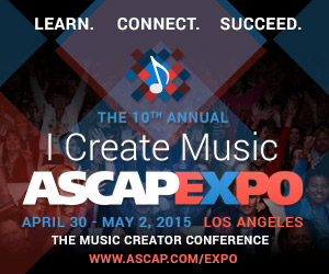 I Create Music ASCAP EXPO