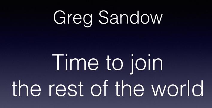 Greg Sandow