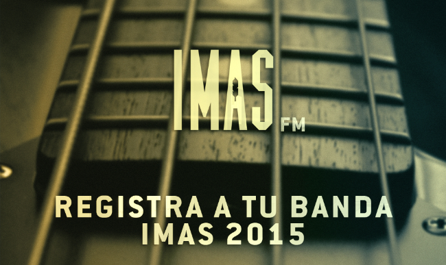 Convocatoria IMAS 2015