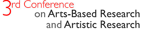 conference on arts based research and artistic research