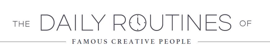 infografia rutinas personas creativas