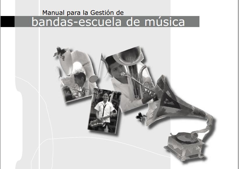 manual gestion escuelas y bandas de musica