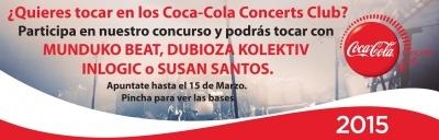 concurso coca cola concerts club