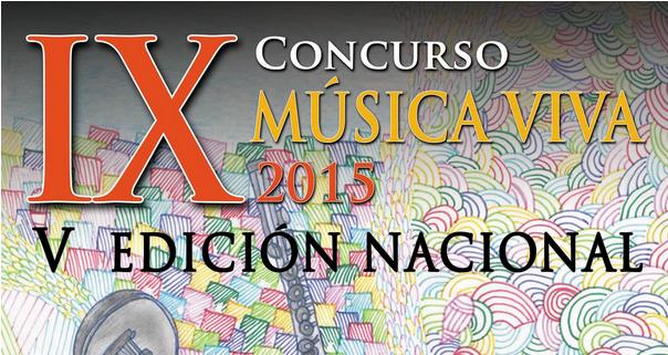 IX CONCURSO MÚSICA VIVA 2015
