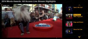 wma livestream all acces 2014