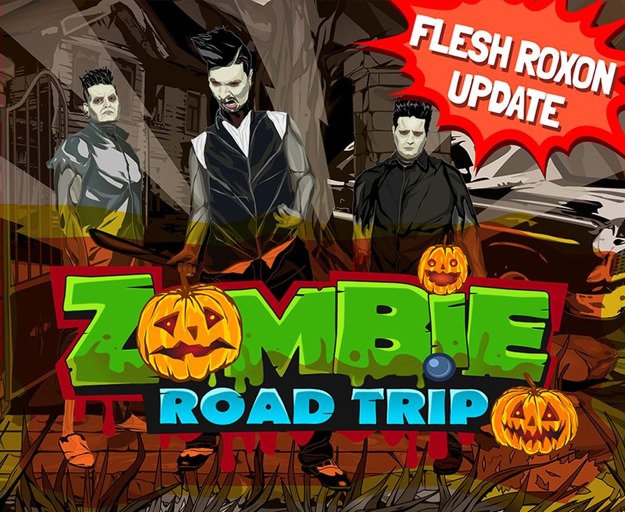 mejores campañas de marketing musical 2015, flesh roxon, zombie road trip