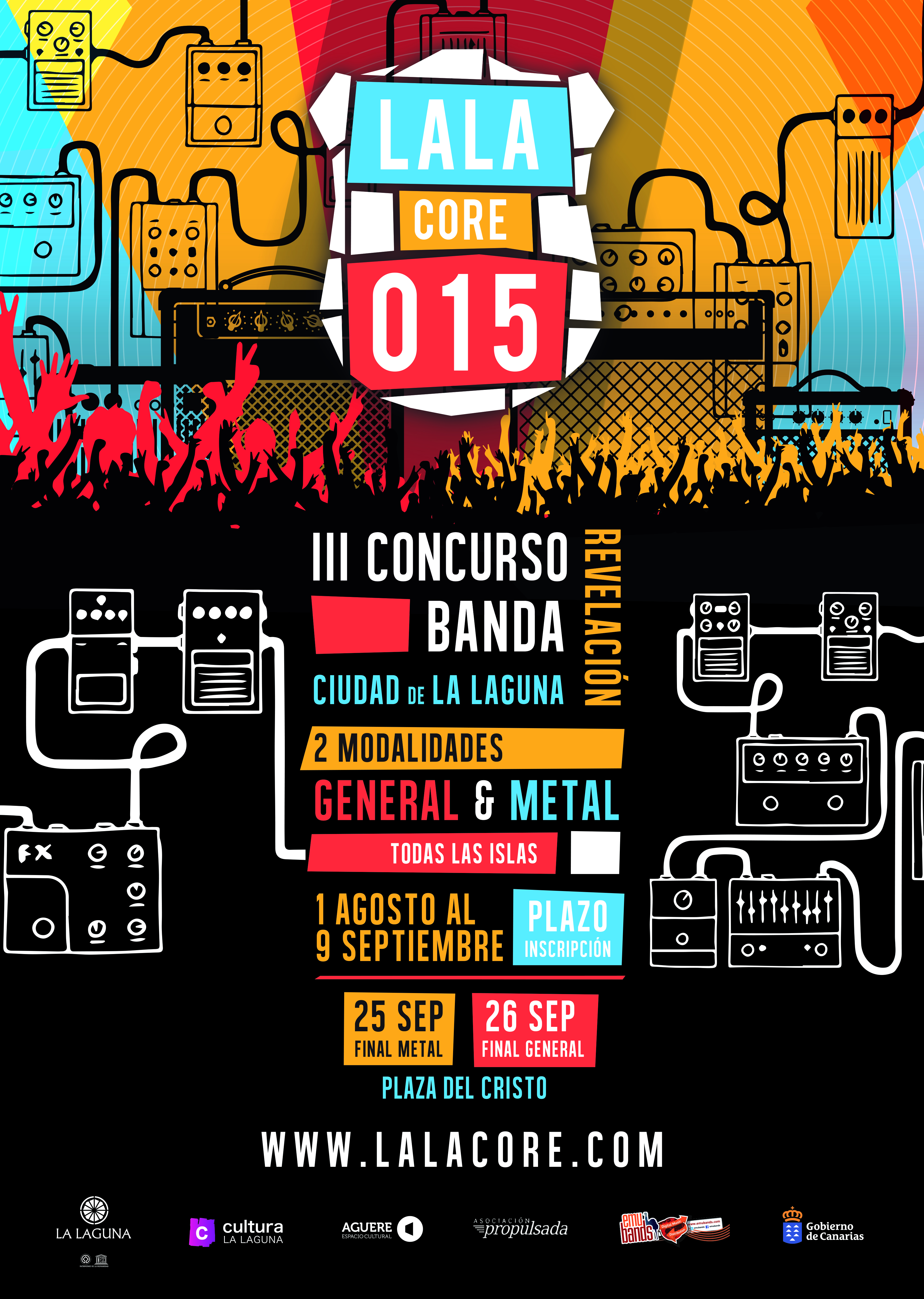 concurso bandas lalacore 2015