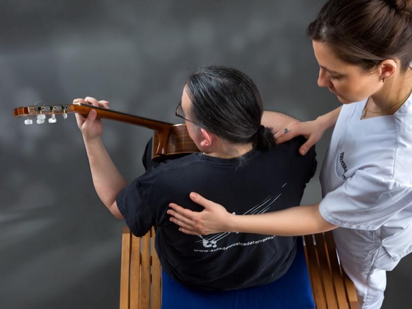 fisioterapia musica, tratamiento del interprete