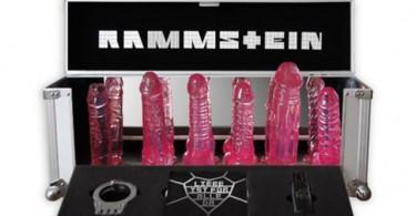 rammstein merchandising consoladores