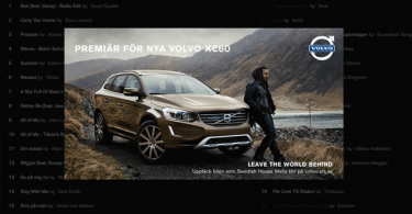 spotify for brands, volvo luve